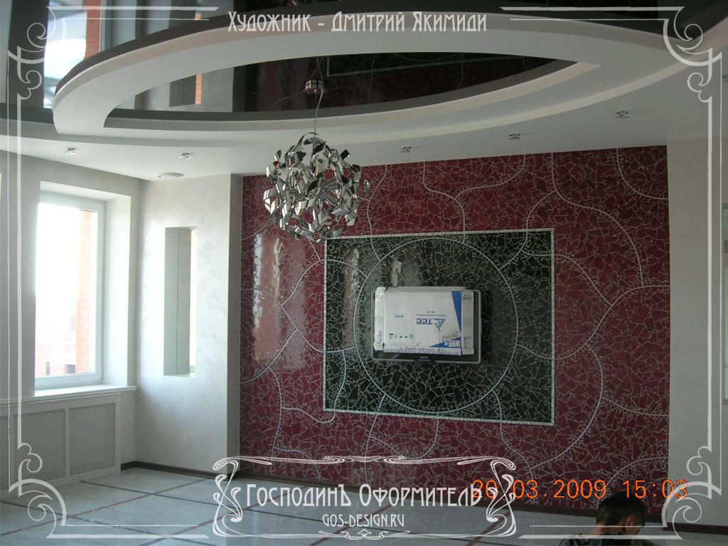мозаика в современном интерьере