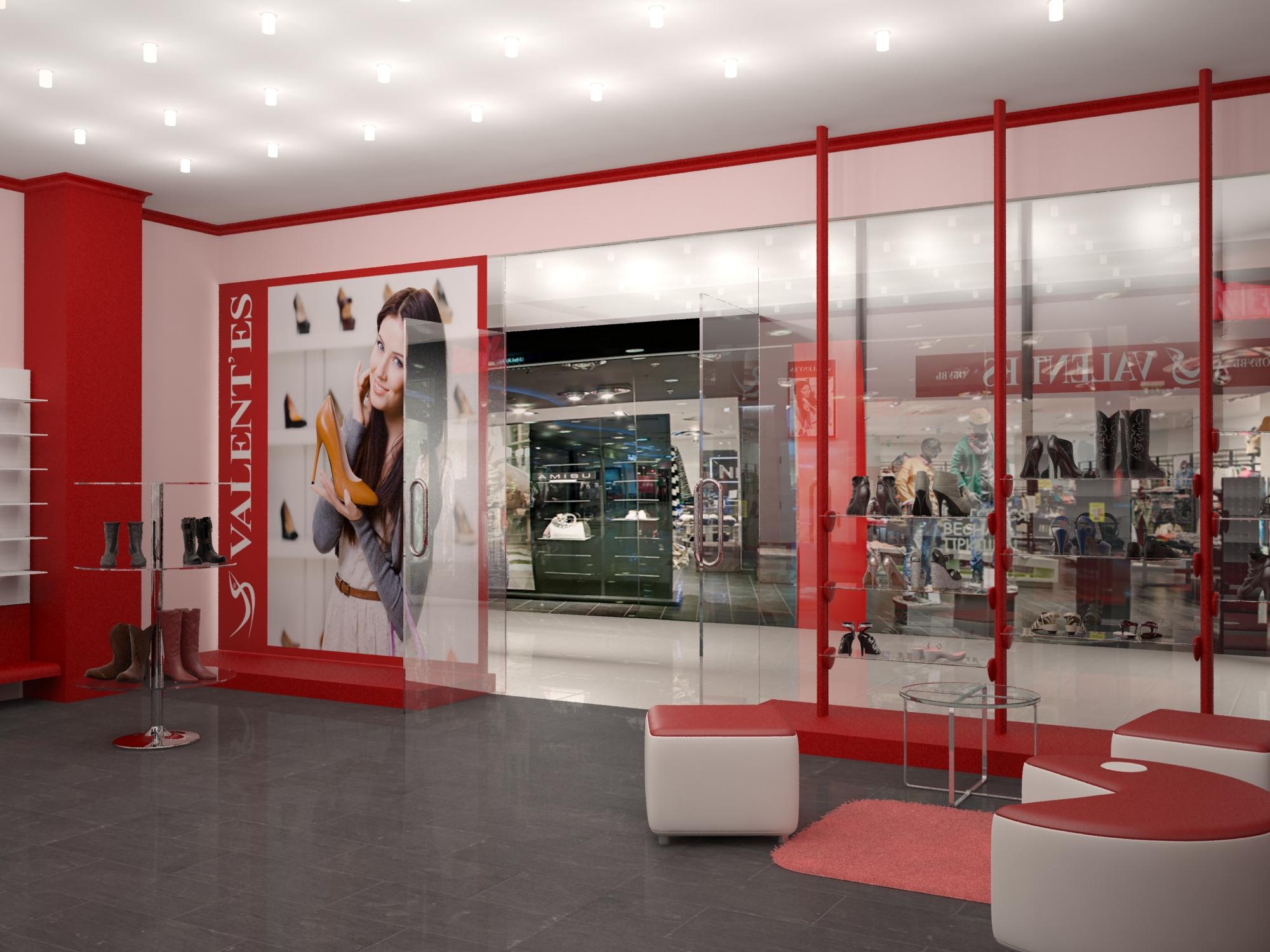 дизайн проект магазина фото