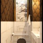 Туалет сталинка проект