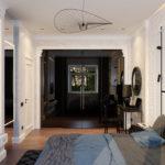 Дизайн спальни неоклассика