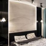 спальня панели стекло