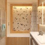ванная плитка террацо