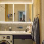 зеркальный шкаф в ванной заказать