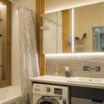 зеркальный шкафчик в ванную